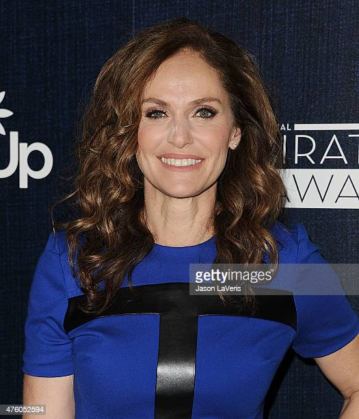 Actress Amy Brenneman attends the 12th annual Inspiration Awards to benefit Step Up at The Beverly Hilton Hotel on June 5 2015 in Beverly Hills...