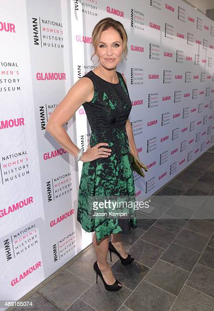 Actress Amy Brenneman attends the 4th Annual Women Making History Brunch presented by the National Women's History Museum and Glamour Magazine at...