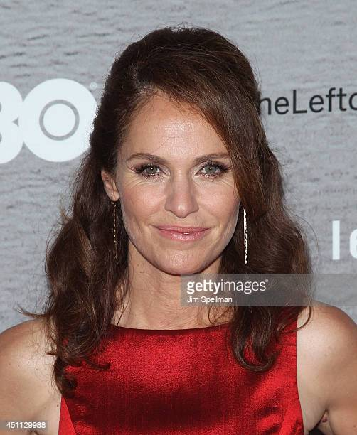 """Actress Amy Brenneman attends """"The Leftovers"""" premiere at NYU Skirball Center on June 23, 2014 in New York City."""