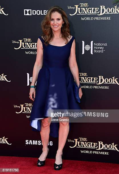 Actress Amy Brenneman attends the premiere of Disney's 'The Jungle Book' at the El Capitan Theatre on April 4 2016 in Hollywood California