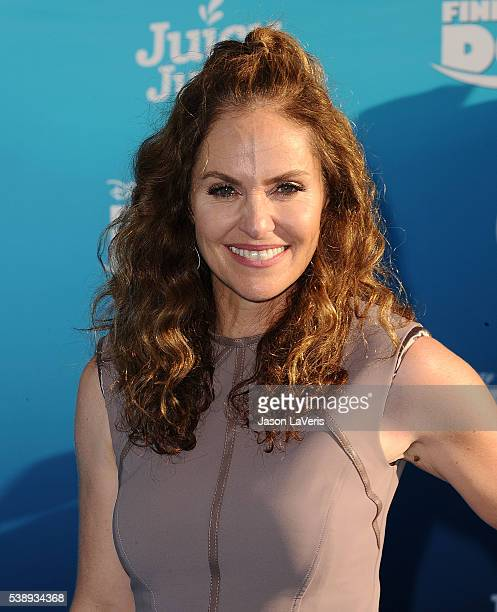 Actress Amy Brenneman attends the premiere of 'Finding Dory' at the El Capitan Theatre on June 8 2016 in Hollywood California