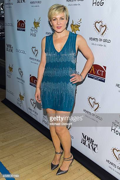 Actress Amy Carlson attends 18th Annual Hearts Of Gold Gala at New York Stock Exchange on November 11 2014 in New York City