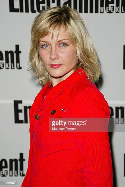 Actress Amy Carlson attends 'Entertainment Weekly's First Ever Photo Issue Event' at The Apple Store on October 2 2002 in New York City