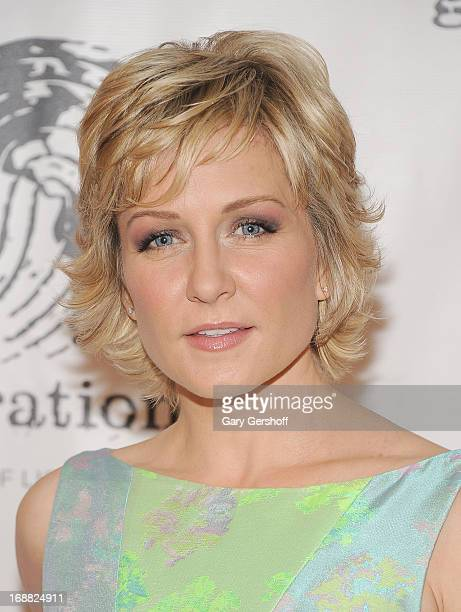 Actress Amy Carlson attends the 2013 GenerationOn Benefit at 583 Park Avenue on May 15, 2013 in New York City.