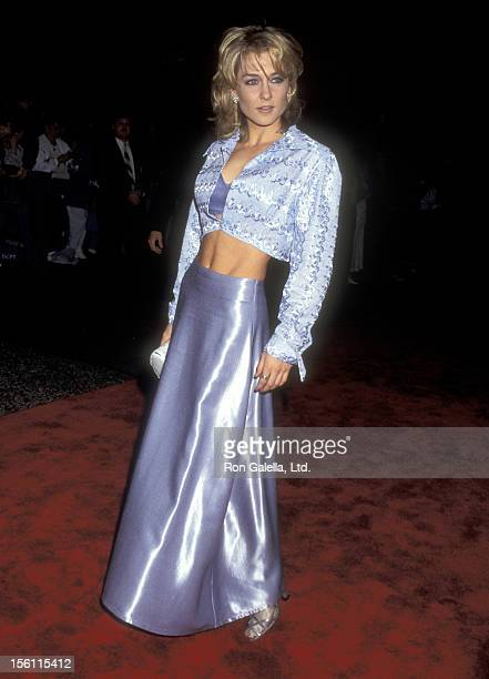 Actress Amy Carlson attends the 22nd Annual Daytime Emmy Awards on May 19 1995 at Marriott Marquis Hotel in New York City New York