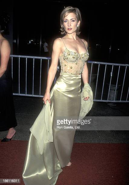 Actress Amy Carlson attends the 25th Annual Daytime Emmy Awards on May 15 1998 at Radio City Music Hall in New York City New York