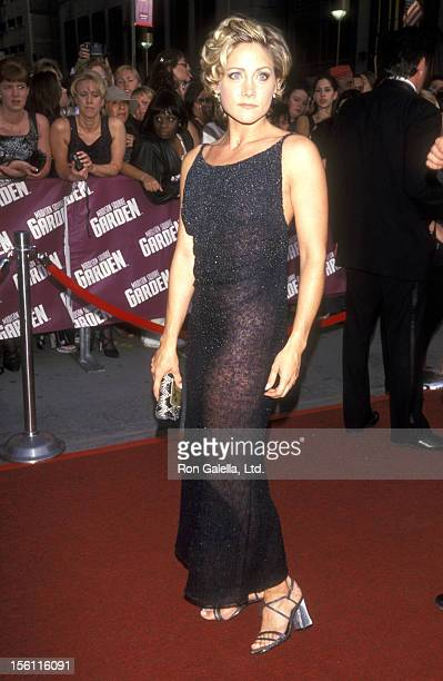 Actress Amy Carlson attends the 26th Annual Daytime Emmy Awards on May 21 1999 at Madison Square Garden in New York City New York