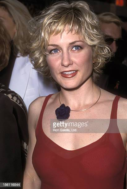 Actress Amy Carlson attends the '42nd Street' Opening Night Performance on May 2 2001 at Ford Center for the Performing Arts in New York City New York