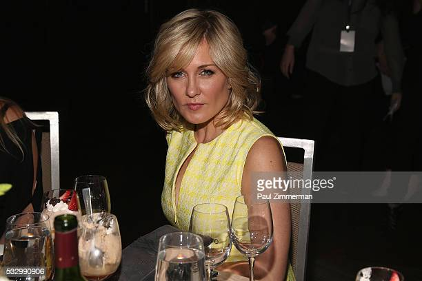Actress Amy Carlson attends the Federal Enforcement Homeland Security Foundation 2016 Ridge Awards at Sheraton Times Square on May 19 2016 in New...