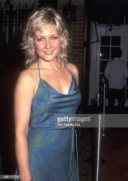 Actress Amy Carlson attends 'The Lord of the Rings The Fellowship of the Ring' DVD Promotion to Benefit for the Creative Coalition on August 5 2002...