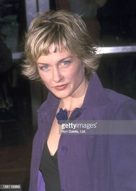 Actress Amy Carlson attends the 'Someone Like You' New York City Premiere on March 28 2001 at Chelsea West Cinemas in New York City New York