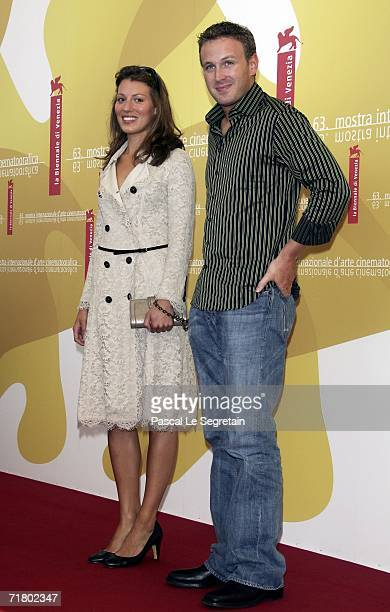 Actress Amy Carson and actor Benjamin Jay Davies attend a photocall to promote the film 'The Magic Flute' during the ninth day of the 63rd Venice...