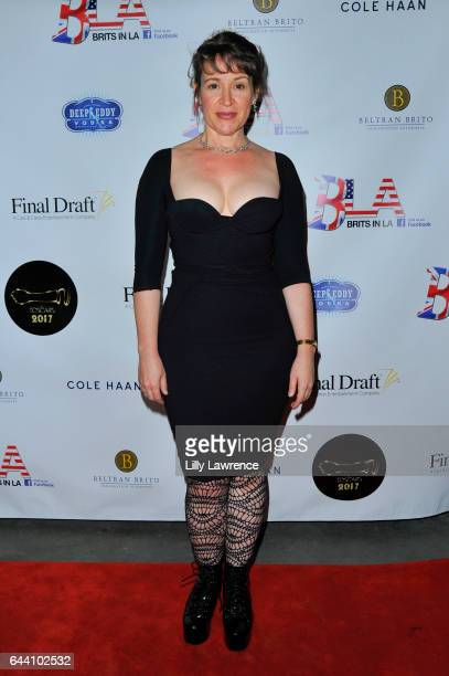 Actress Amy Chaffee arrives at 10th Annual Toscars at The Renberg Theatre on February 22 2017 in Los Angeles California
