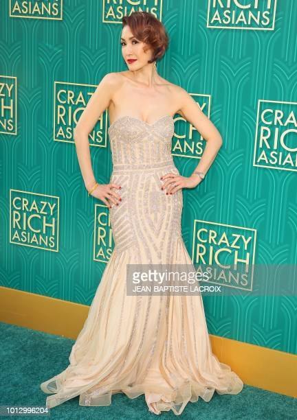 Actress Amy Cheng attends the premiere of Warner Bros Pictures' 'Crazy Rich Asians' in Hollywood California on August 7 2018