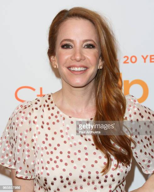 Actress Amy Davidson attends Step Up's 14th Annual Inspiration Awards at the Beverly Wilshire Four Seasons Hotel on June 1 2018 in Beverly Hills...
