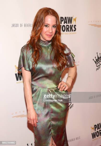 Actress Amy Davidson attends the James Paw 007 Ties Tails Gala at the Four Seasons Westlake Village on March 10 2018 in Westlake Village California