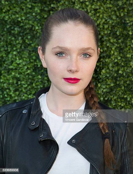 Actress Amy Forsyth attends a screening of Hulu's 'The Path' season finale at Hollywood Forever on May 22 2016 in Hollywood California