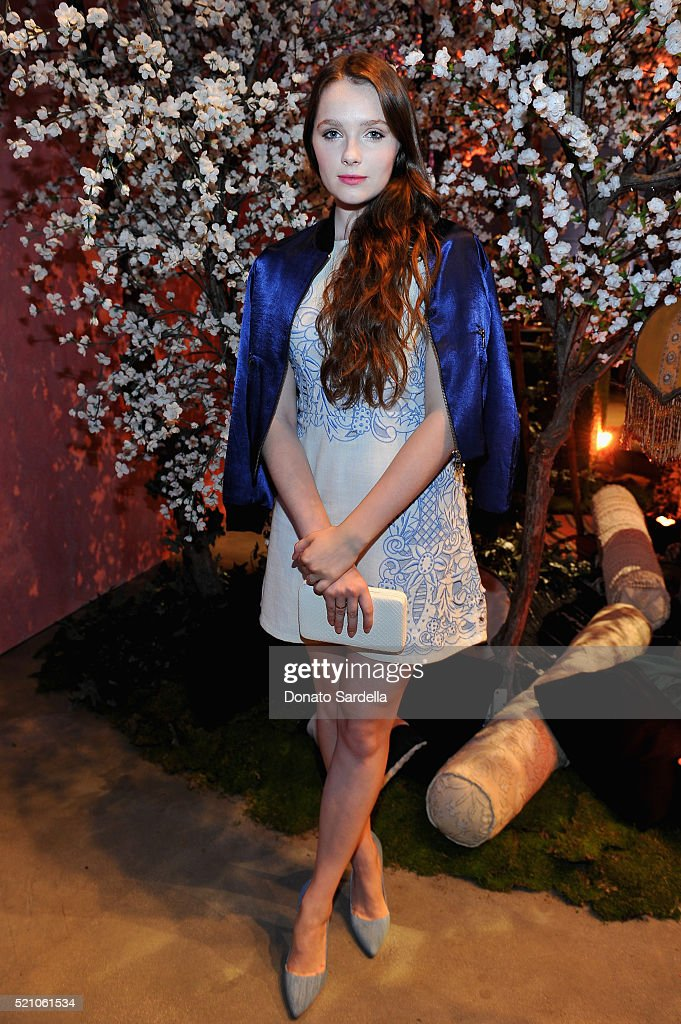 alice + olivia by Stacey Bendet Los Angeles Runway Show - Backstage and Front Row : News Photo