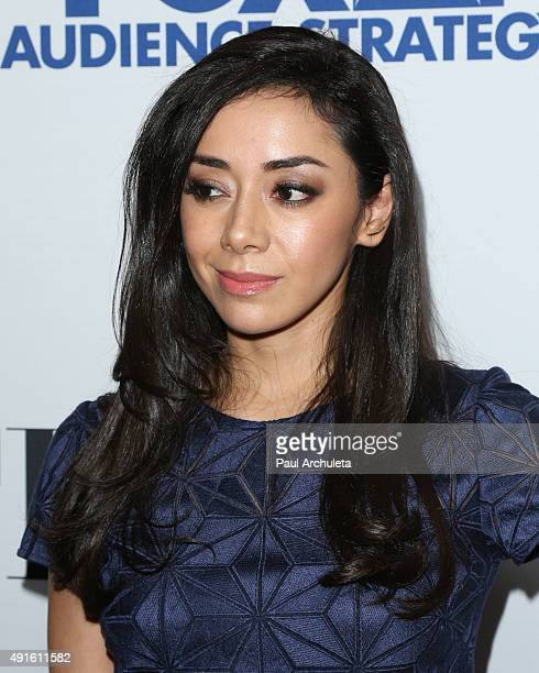 Actress Amy Garcia attends Latina Magazine's 'Hot List' party at The London West Hollywood on October 6 2015 in West Hollywood California