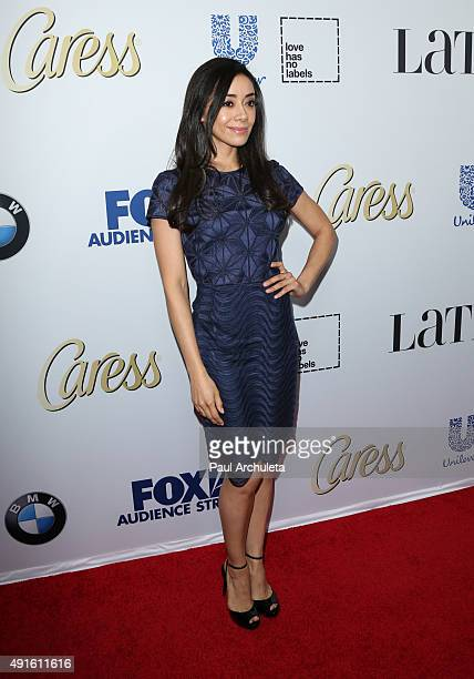 Actress Amy Garcia attends Latina Magazine's Hot List party at The London West Hollywood on October 6 2015 in West Hollywood California