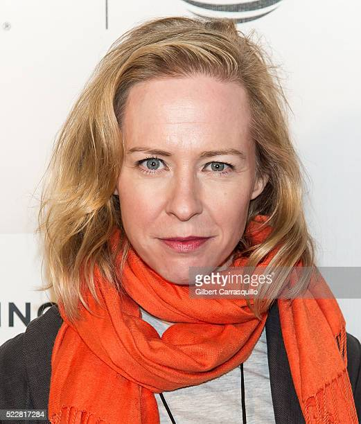 Actress Amy Hargreaves attends 'A Hologram For The King' World Premiere during 2016 Tribeca Film Festival at John Zuccotti Theater at BMCC Tribeca...