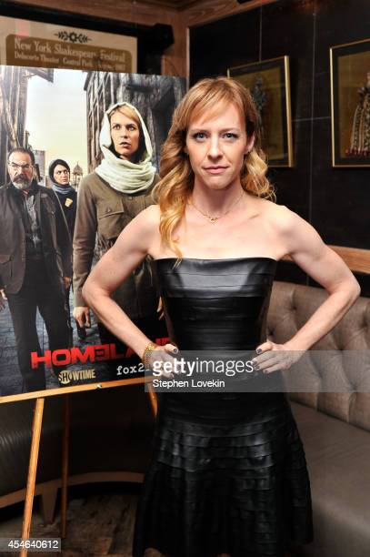 Actress Amy Hargreaves attends a Private Reception And Screening Of Homeland Season 4 on September 4 2014 in New York City