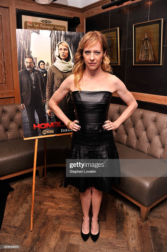 Actress Amy Hargreaves attends a Private Reception And Screening Of Homeland Season 4 on September 4, 2014 in New York City.