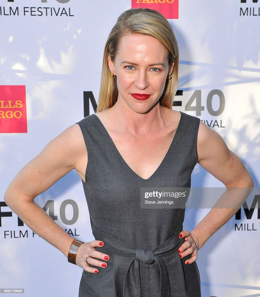 Actress Amy Hargreaves attends the 40th Annual Mill Valley Film Festival at The Outdoor Art Club on October 5, 2017 in Mill Valley, California.