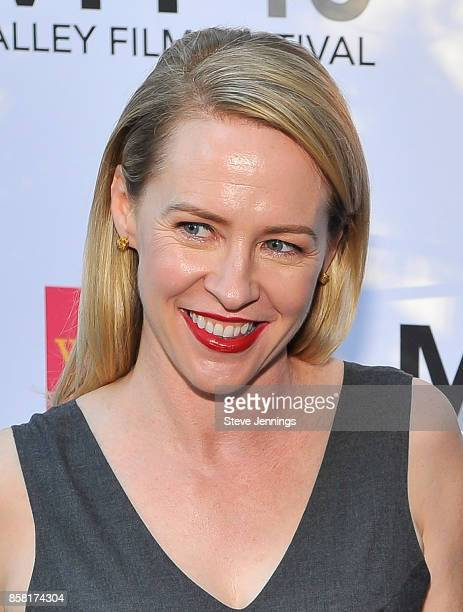 Actress Amy Hargreaves attends the 40th Annual Mill Valley Film Festival at The Outdoor Art Club on October 5 2017 in Mill Valley California