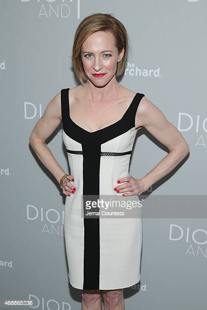 Actress Amy Hargreaves attends 'The Orchard's DIOR I' New York screening at Paris Theater on April 7 2015 in New York City