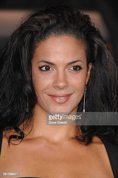 Actress Amy Hunter arrives at the Mann's Village Theatre for the Los Angeles Premiere of The Kingdom on September 17 2007 in Westwood California