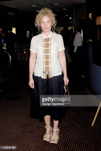 Actress Amy Irving attends a screening of Inglourious Basterds at Cinema 2 on August 18 2009 in New York City