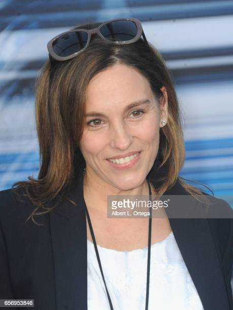 Actress Amy Jo Johnson arrives for the Premiere Of Lionsgate's Power Rangers held on March 22 2017 in Westwood California