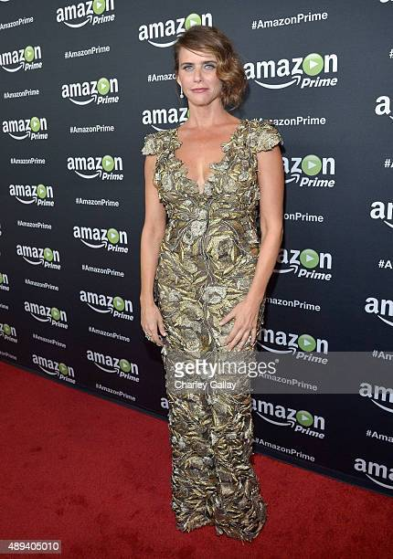 Actress Amy Landecker attends Amazon Prime's Emmy Celebration at The Standard Hotel on September 20 2015 in Los Angeles California