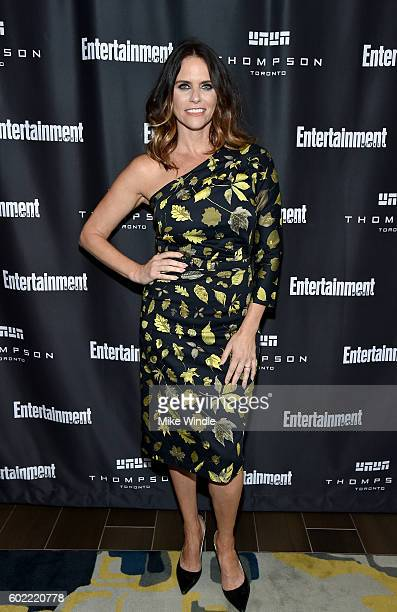 Actress Amy Landecker attends Entertainment Weekly's Toronto Must List party at the Thompson Hotel on September 10 2016 in Toronto Canada