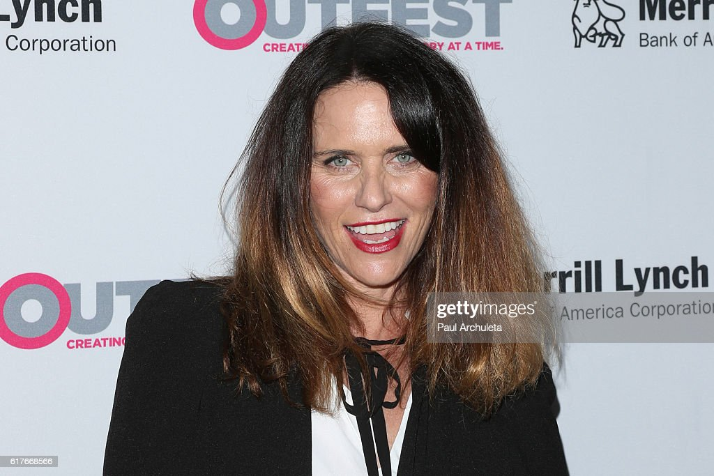 Actress Amy Landecker attends the 12th annual Outfest Legacy Awards at The Vibiana on October 23, 2016 in Los Angeles, California.