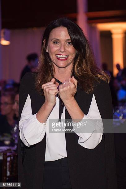 Actress Amy Landecker attends the 12th Annual Outfest Legacy Awards at Vibiana on October 23 2016 in Los Angeles California