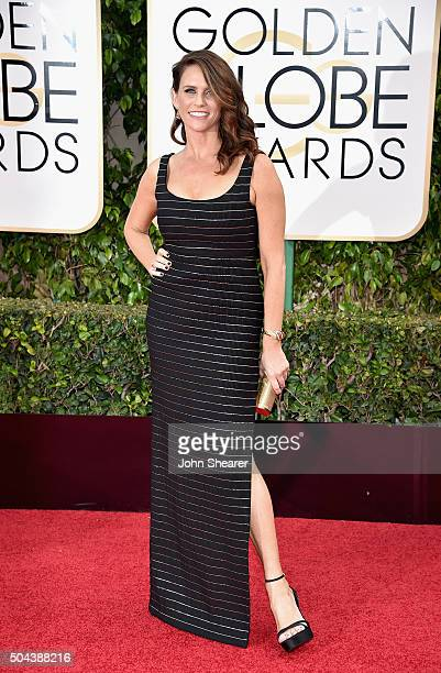 Actress Amy Landecker attends the 73rd Annual Golden Globe Awards held at the Beverly Hilton Hotel on January 10 2016 in Beverly Hills California