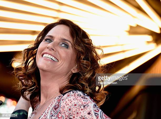 Actress Amy Landecker attends the Television Academy's 'Transparent Anatomy Of An Episode' at The Theatre at Ace Hotel on March 17 2016 in Los...
