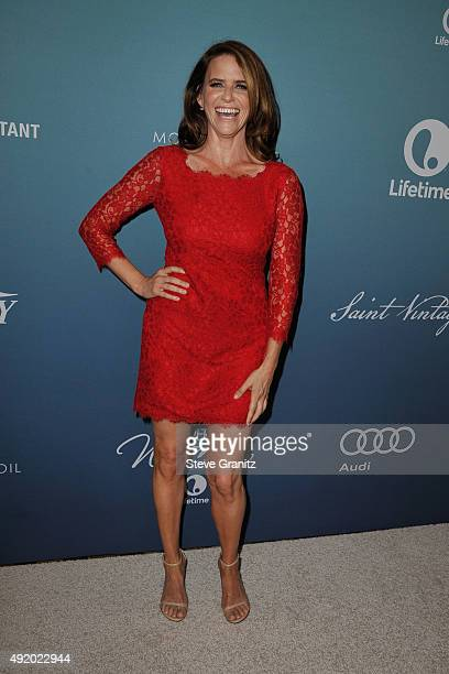 Actress Amy Landecker attends Variety's Power Of Women Luncheon at the Beverly Wilshire Four Seasons Hotel on October 9, 2015 in Beverly Hills,...