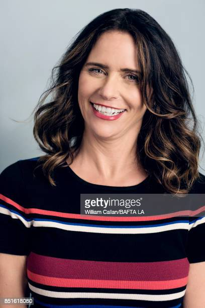 Actress Amy Landecker from 'Transparent' poses for a portrait BBC America BAFTA Los Angeles TV Tea Party 2017 at the The Beverly Hilton Hotel on...