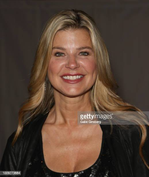 Actress Amy Lindsay attends the 17th annual official Star Trek convention at the Rio Hotel Casino on August 1 2018 in Las Vegas Nevada