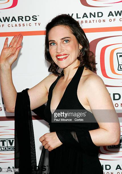 Actress Amy Linker arrives at the 2006 TV Land Awards held in Santa Monica