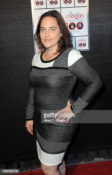 Actress Amy Linker arrives for 100 Years Of Jackie Coogan With A Special Screening Of 'The Kid' held at Arena Cinema Hollywood on November 22 2014 in...