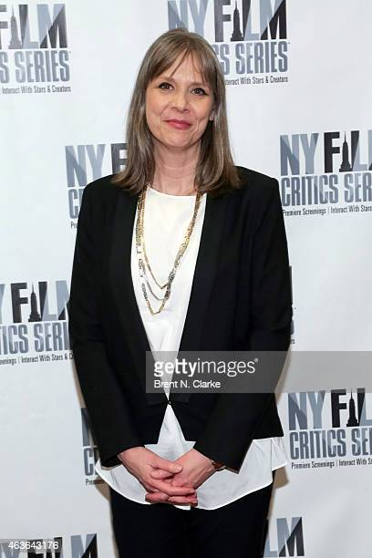 Actress Amy Morton attends the New York Film Critics Series preview screening of 'Bluebird' at AMC Empire on February 16 2015 in New York City