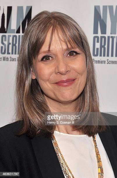 Actress Amy Morton attends the New York Film Critics Series Screening of 'Bluebird' at AMC Empire on February 16 2015 in New York City