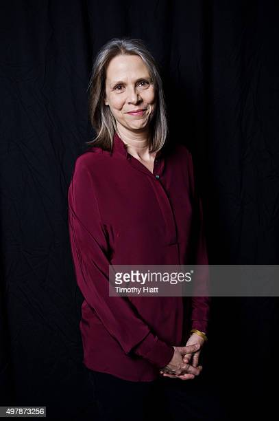 Actress Amy Morton of Chicago PD poses for a portrait on November 9 2015 in Chicago Illinois