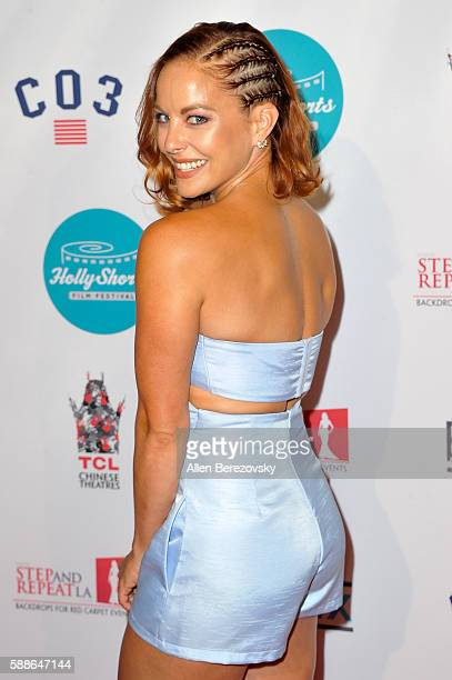 Actress Amy Paffrath attends the 12th Annual HollyShorts Opening Night Celebration at TCL Chinese 6 Theatres on August 11 2016 in Hollywood California