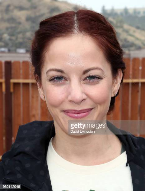 Actress Amy Paffrath attends the Celebs4Vets as they help Homes 4 Families build homes for veterans to enriched neighborhood event on March 10 2018...