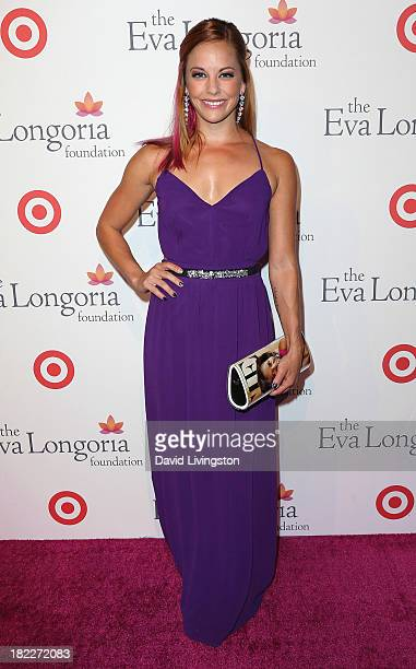 Actress Amy Paffrath attends the Eva Longoria Foundation Dinner at Beso on September 28 2013 in Hollywood California